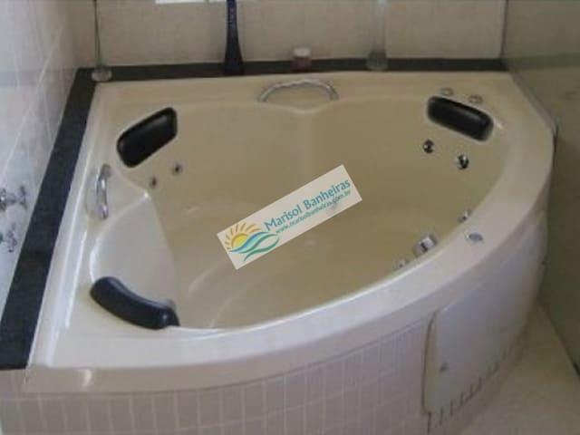 Banheira de Canto Estilo