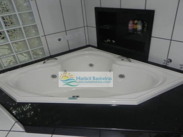 Banheira de Canto 3 Lados
